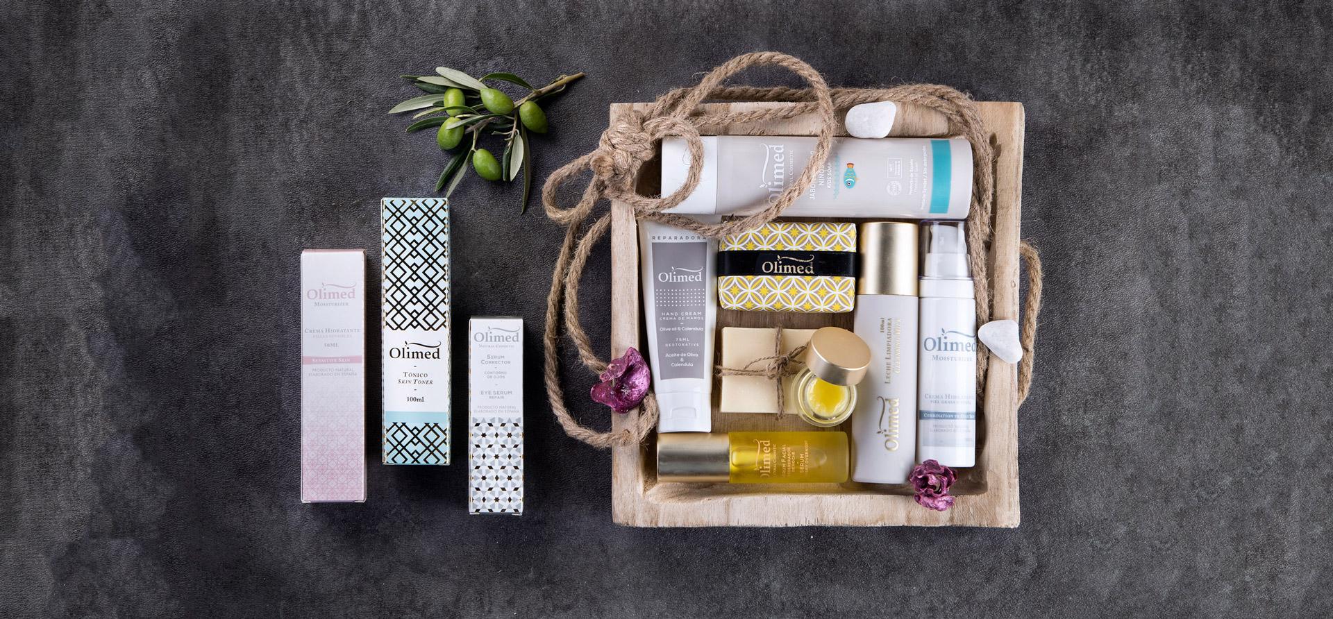 Cesta de productos para la piel: Olimed Cosmetic