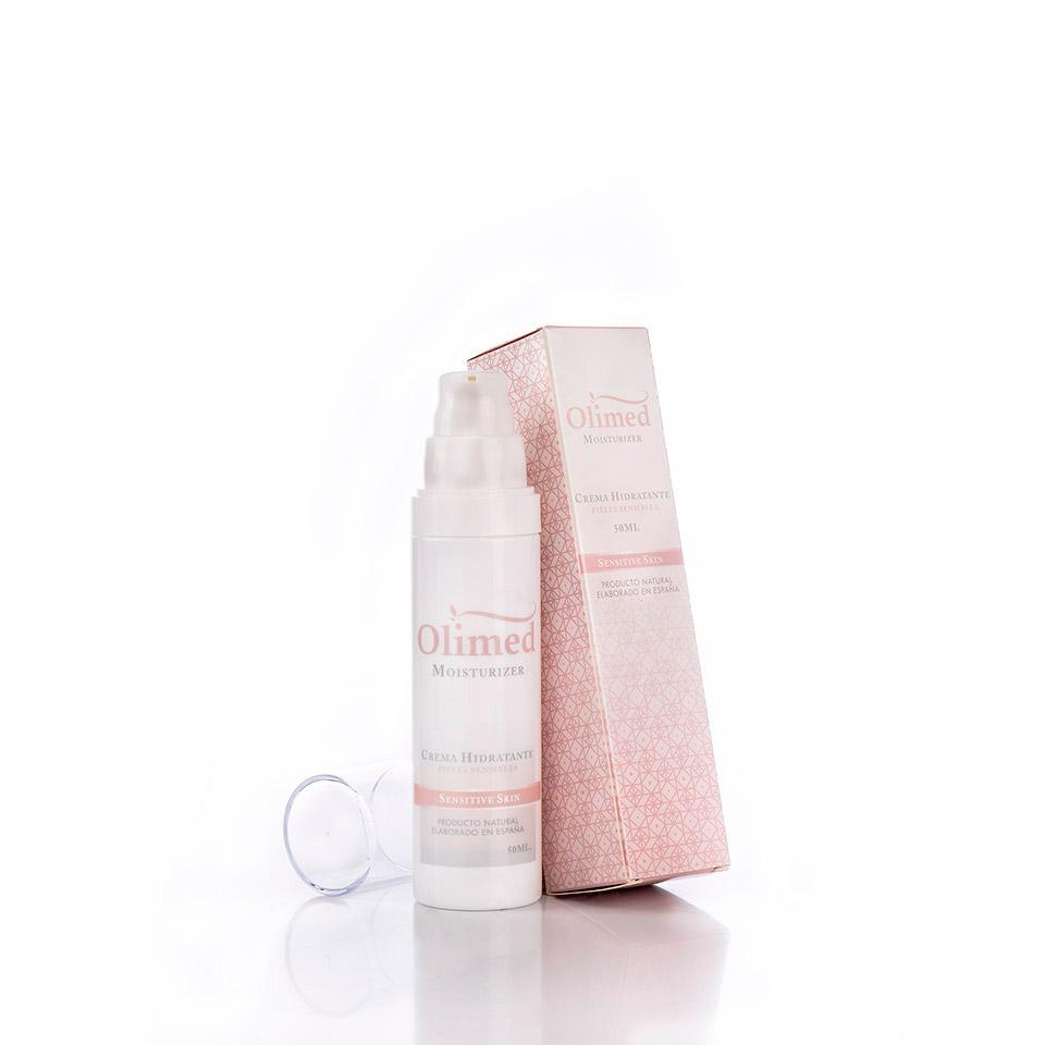 Vista una crema hidratante especial para pieles sensibles