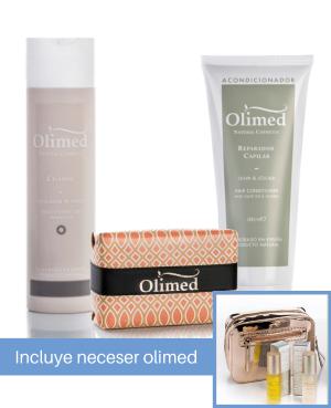 Oferta pack para cabellos grasos: Olimed Cosmetics