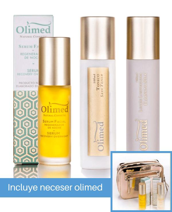 Oferta pack Olimed para piel: Limpieza y reparación facial