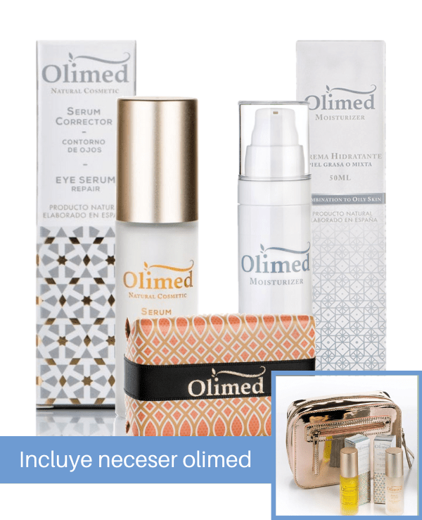 Pack de cremas Olimed: Purificantes antigrasa