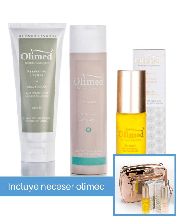 Oferta pack Olimed para cabellos encrespados